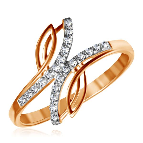 Кольцо из золота 015234