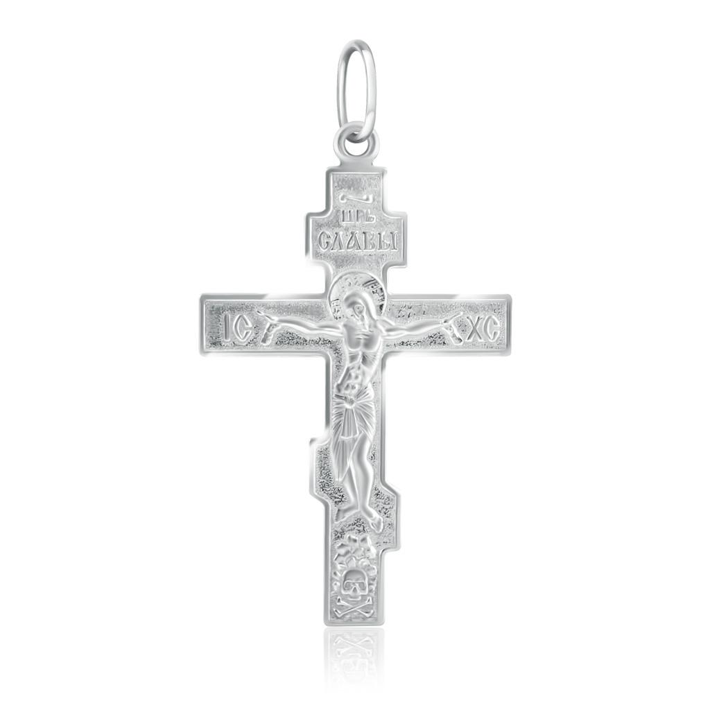 Купить со скидкой Крест из серебра 37020600000