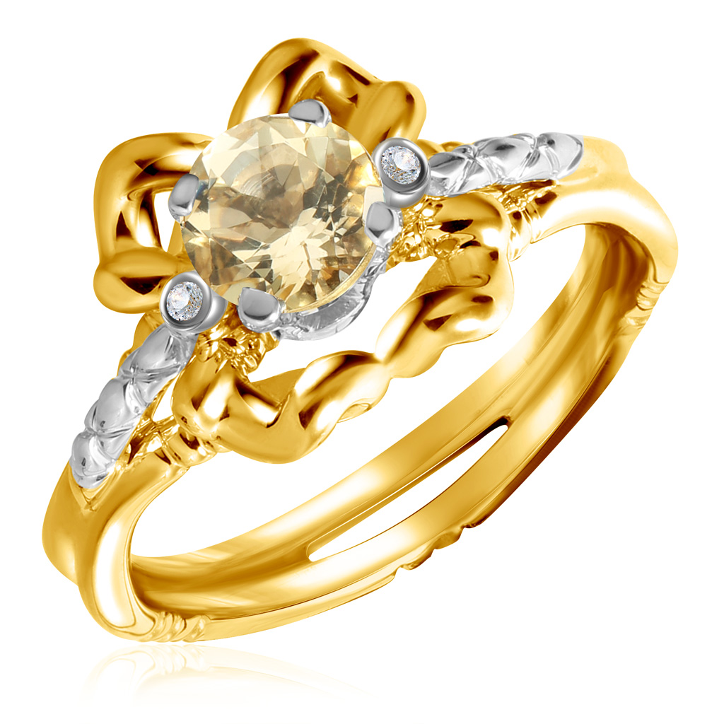 Кольцо из золота 01К669682Ж