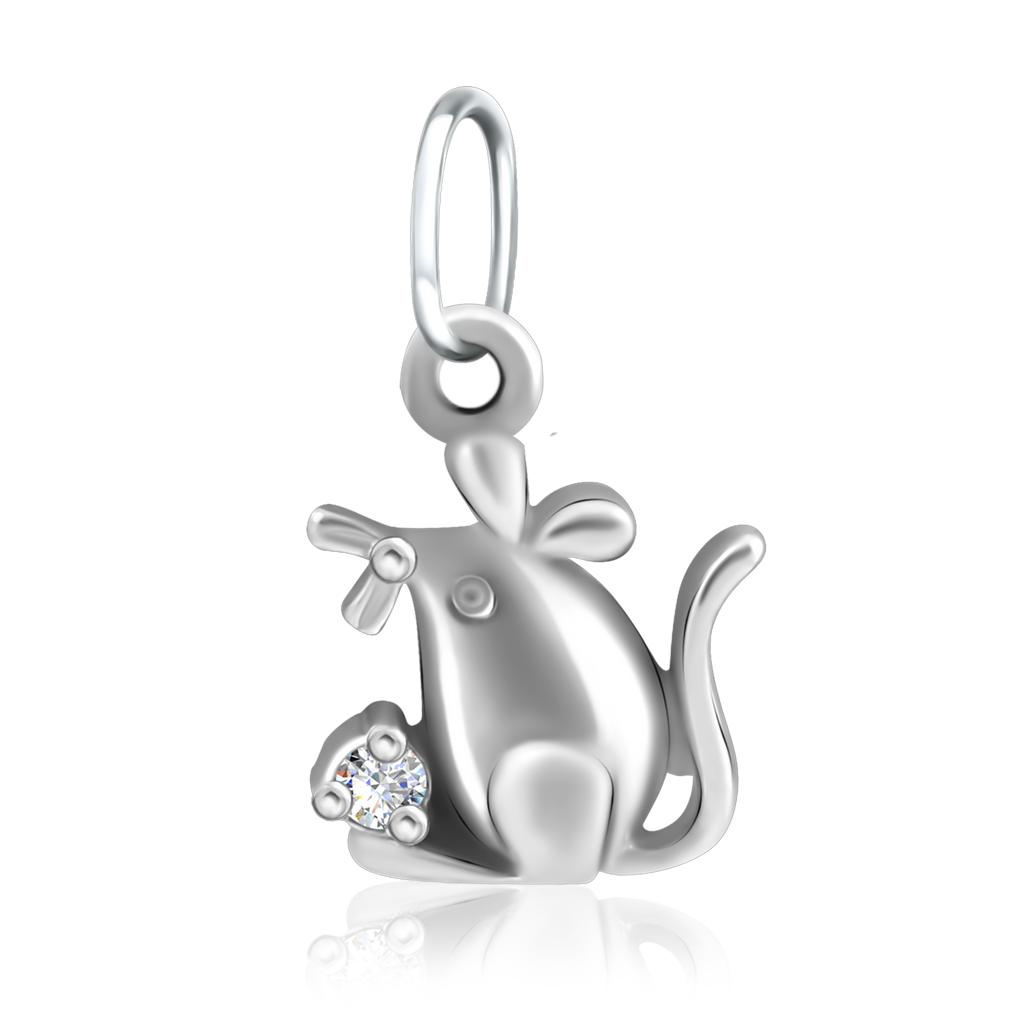Купить со скидкой Подвеска детская из серебра 90-03-0977
