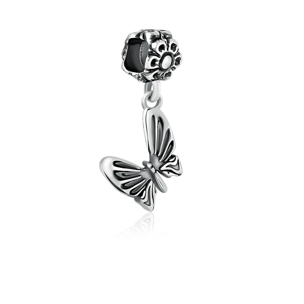 Шарм-подвеска Бабочка из серебра 79010213000