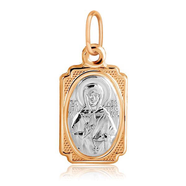 Иконка Святая Матрона из золота 27020982000