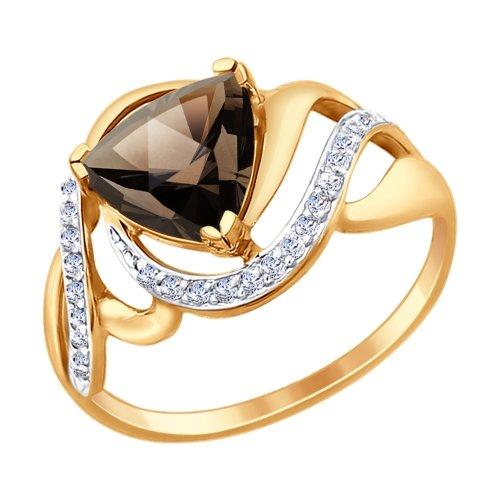 Кольцо из золота 714725