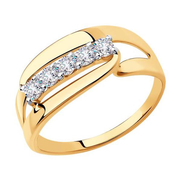 Кольцо из золота 018332