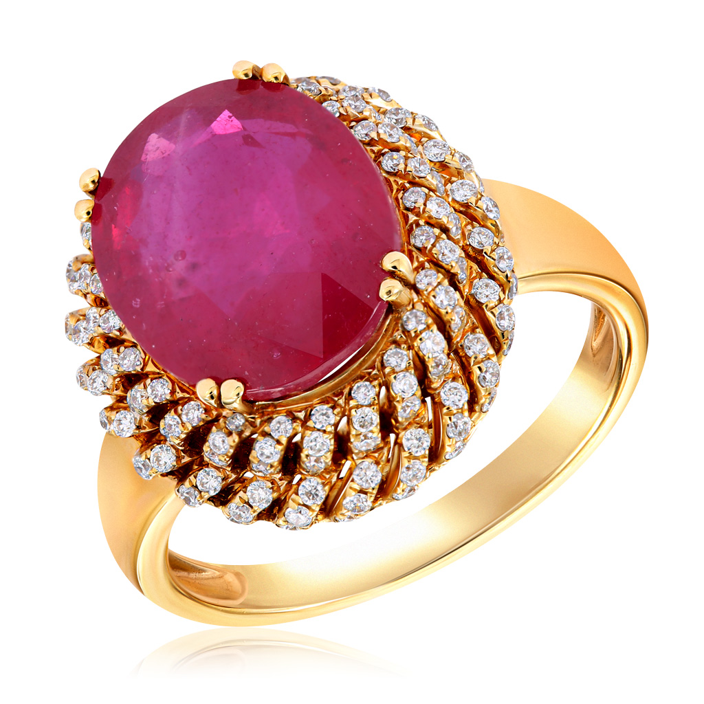 Кольцо из золота юряDR4758