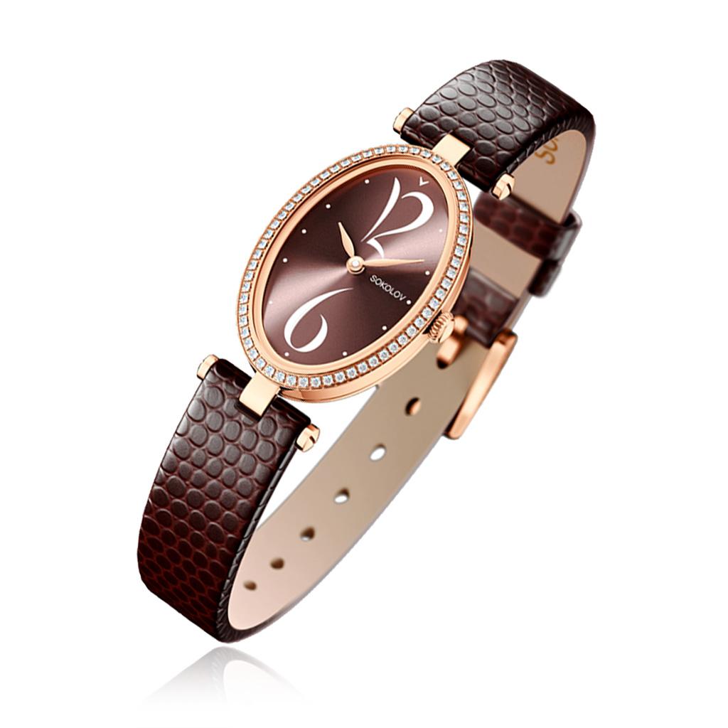 Купить со скидкой Часы женские из золота 236.01.00.001.07.07.2