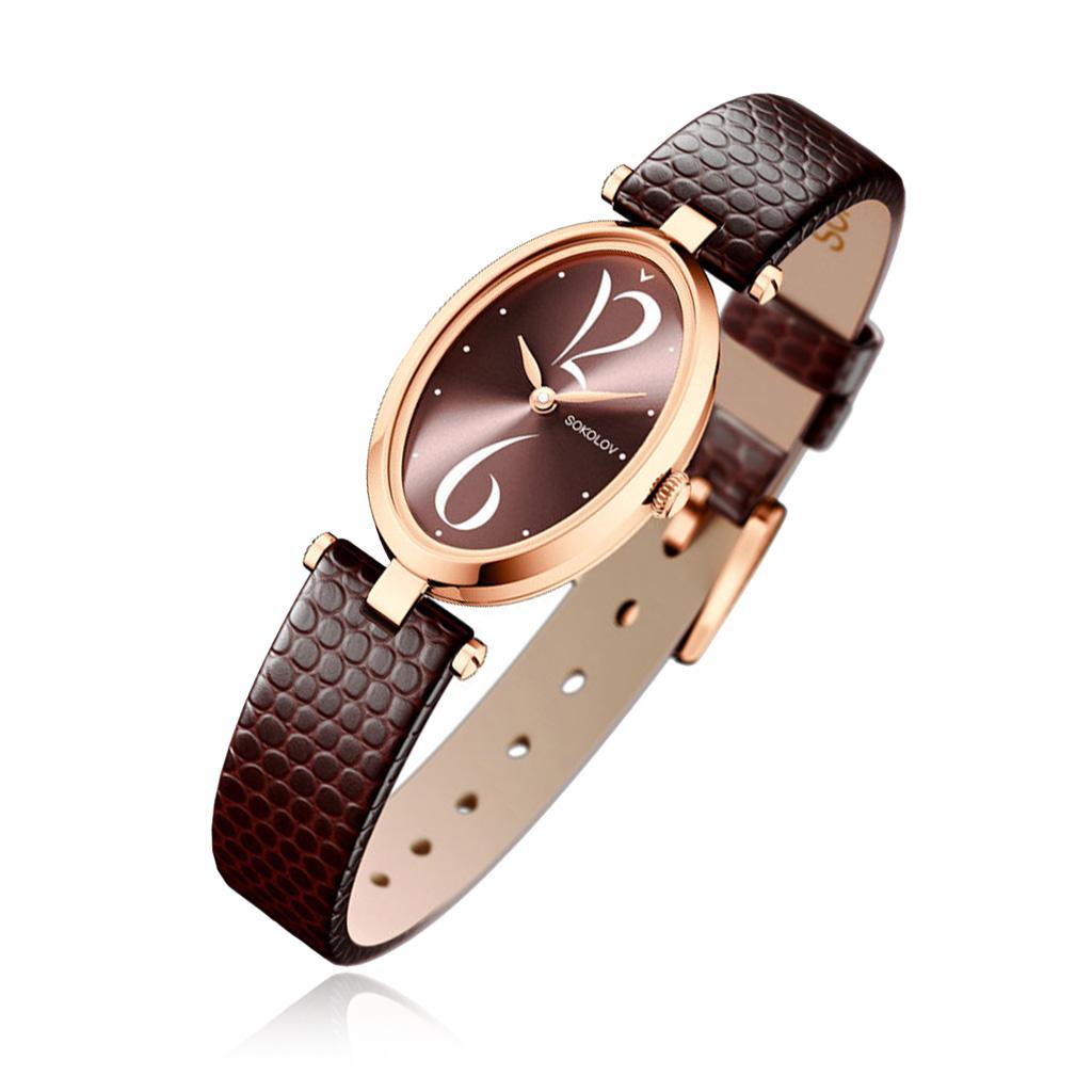 лучшая цена Часы женские SOKOLOV из золота 235.01.00.000.07.07.2