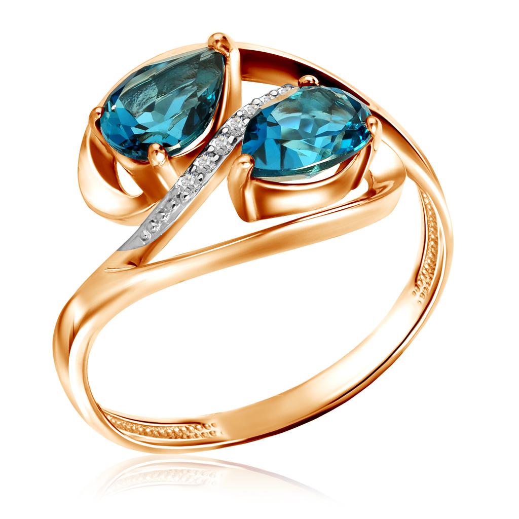 Кольцо из золота К122-4108ТЛ