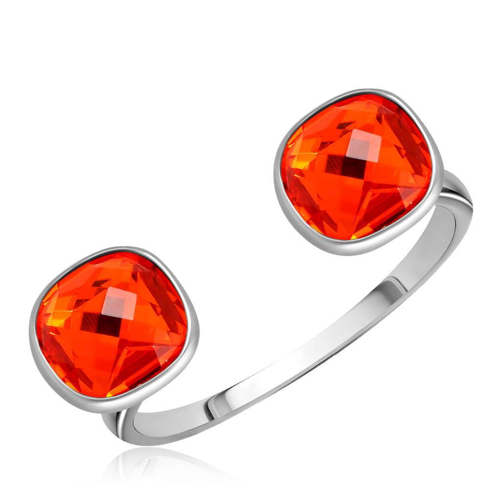 Кольцо из серебра с кристаллами Сваровски 94011873 кольца sokolov 94011873 s