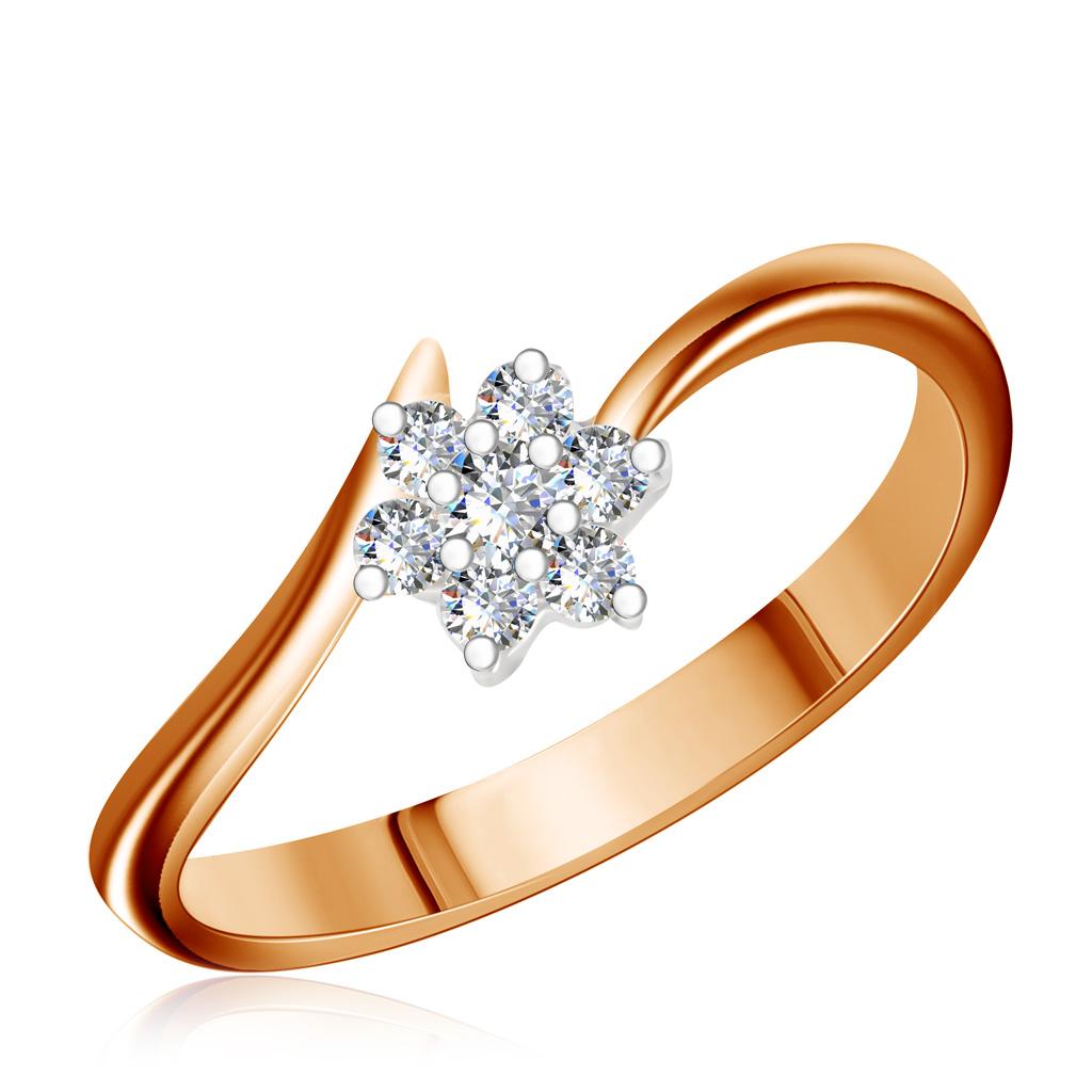 Кольцо из золота 1KPM252