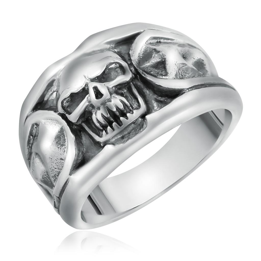 Кольцо мужское из серебра D1338