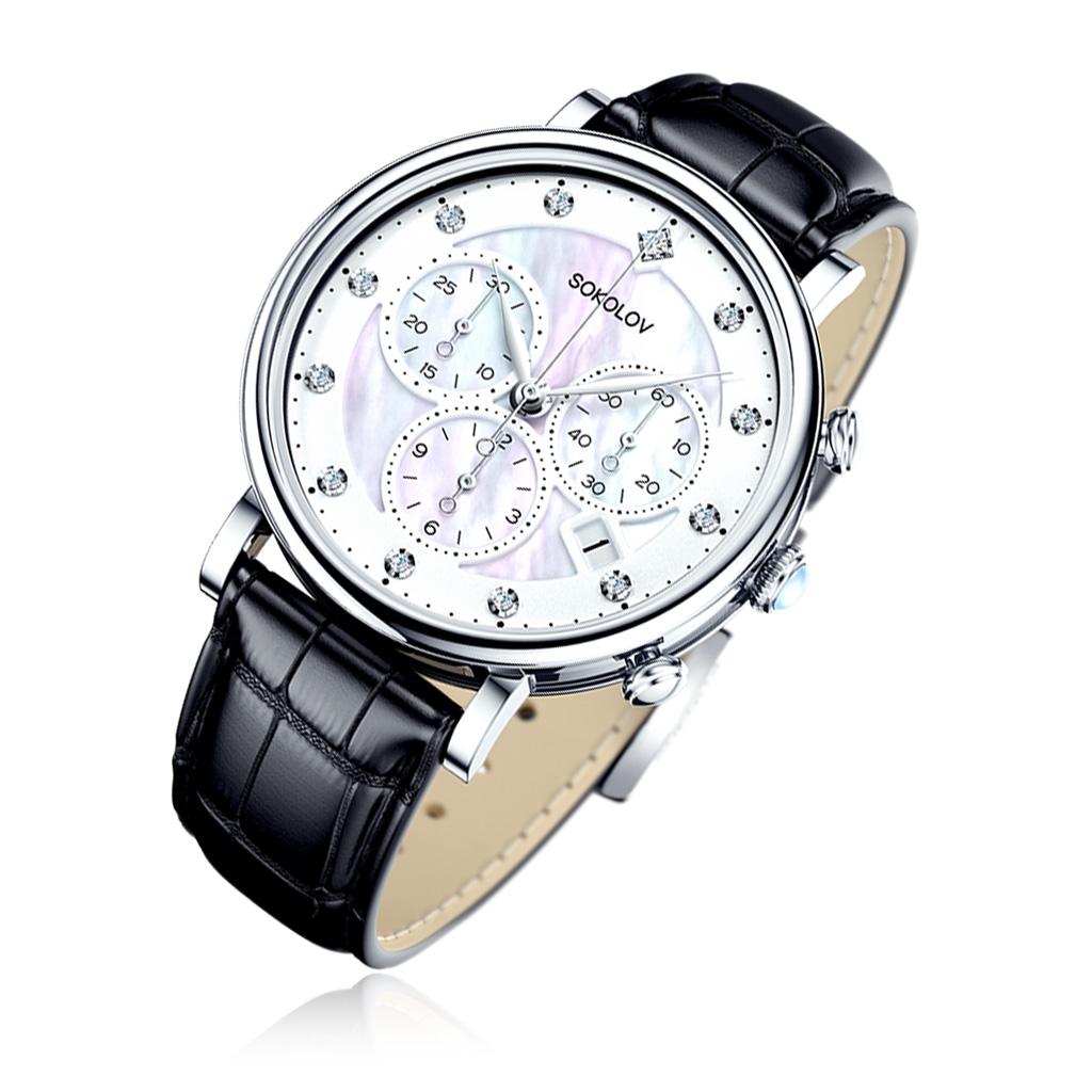 цена Часы женские SOKOLOV из серебра 126.30.00.000.03.01.2 онлайн в 2017 году