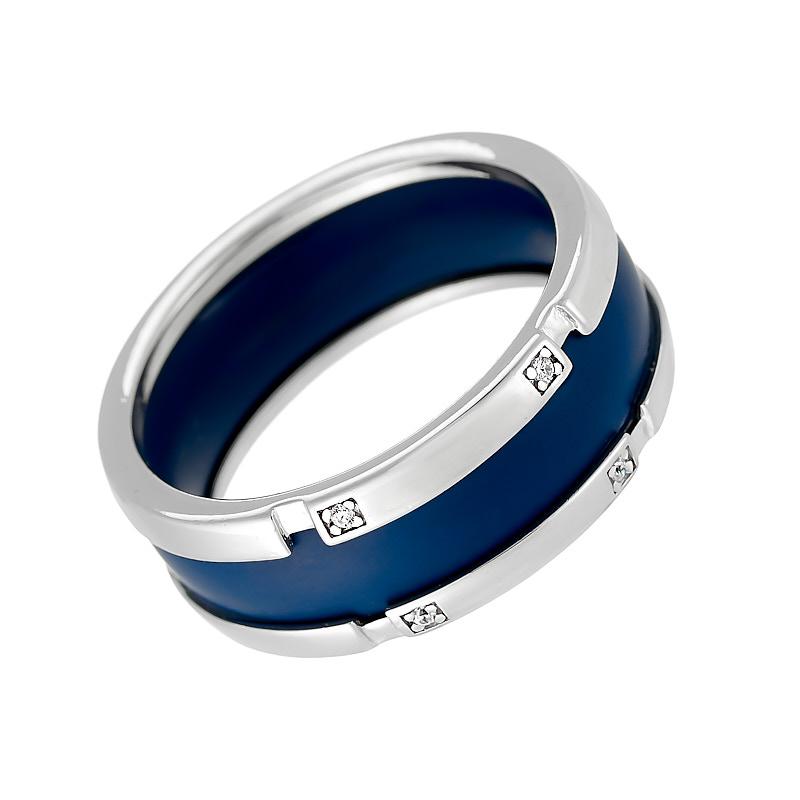 Кольцо из серебра 0200942-1-2901000101 кольцо керамика из серебра valtera 63352