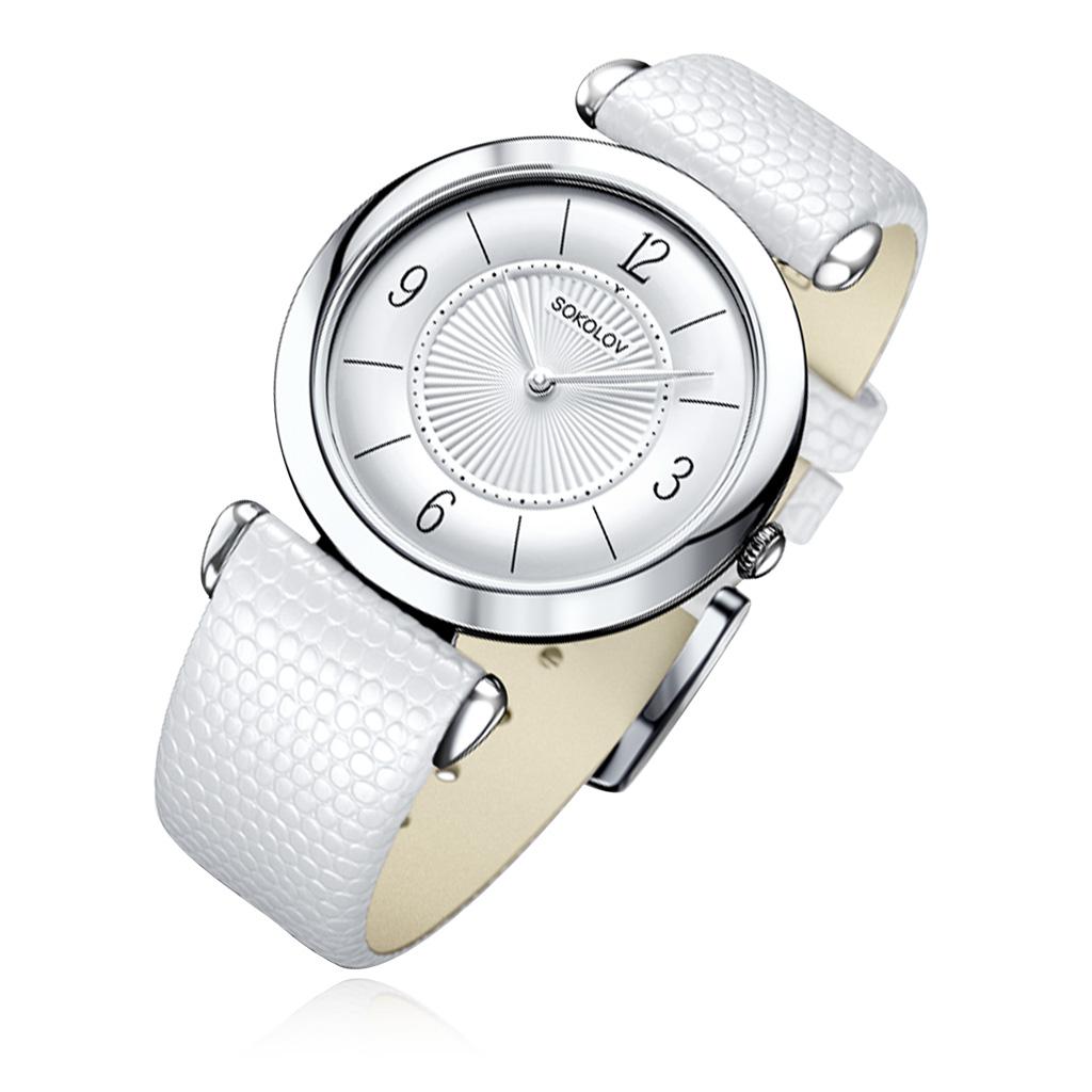 лучшая цена Часы женские SOKOLOV из серебра 105.30.00.000.03.02.2