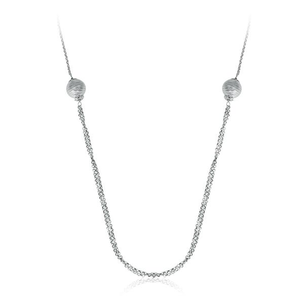 Купить со скидкой Колье из серебра 017037-05-01