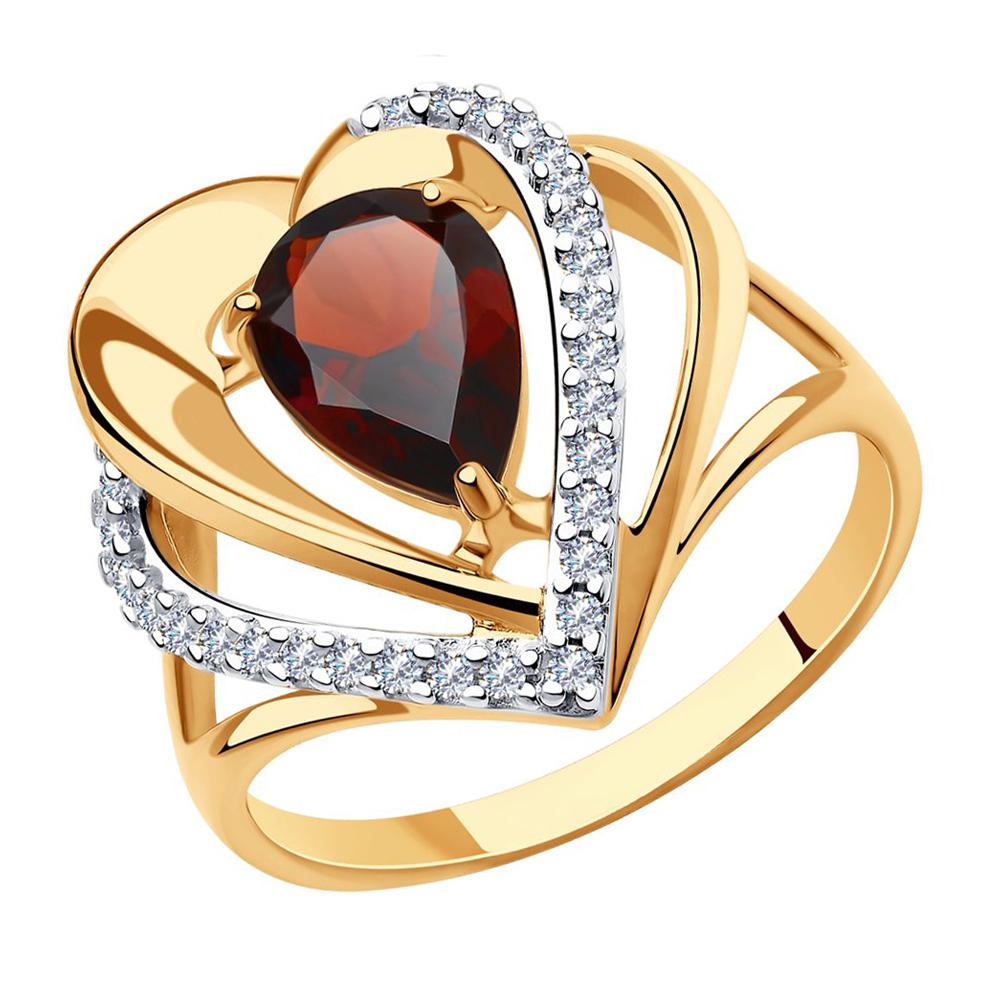 Кольцо из серебра 93-310-00545-1