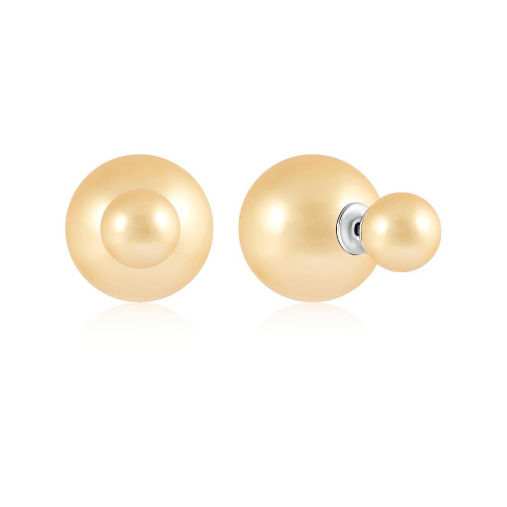 Серьги-пуссеты из серебра DIO001-209Rd серьги пуссеты из серебра fye7622 1
