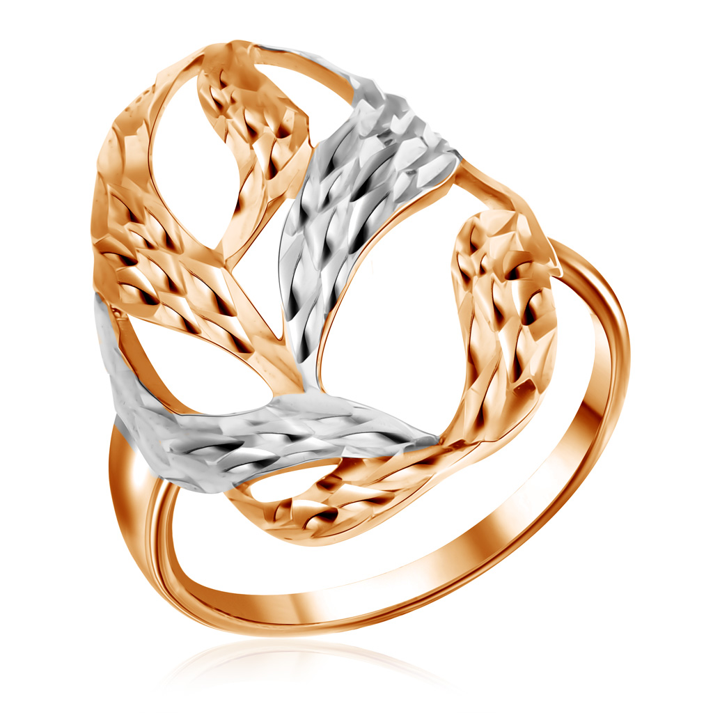 Кольцо из золота R5110429Кольца из красного золота<br>Артикул: R5110429 Металл: Золото Au 585 Вставка: Без вставок<br><br>Артикул: R5110429<br>Металл, проба: Золото<br>Цвет металла: Красный<br>Вставка: Без вставок