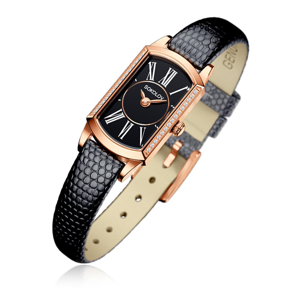 Часы женские SOKOLOV из золота 222.01.00.001.03.01.3