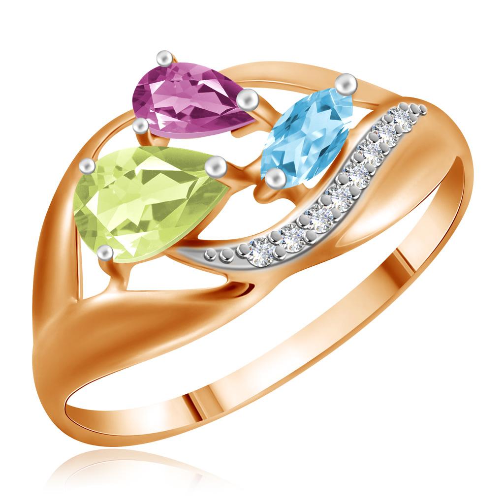 Купить со скидкой Кольцо из золота Д0268-714663