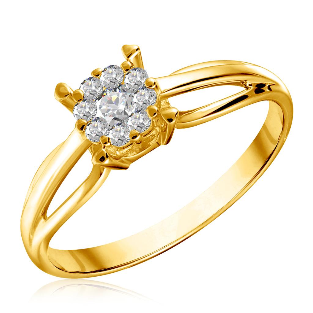Кольцо из золота 01К136351