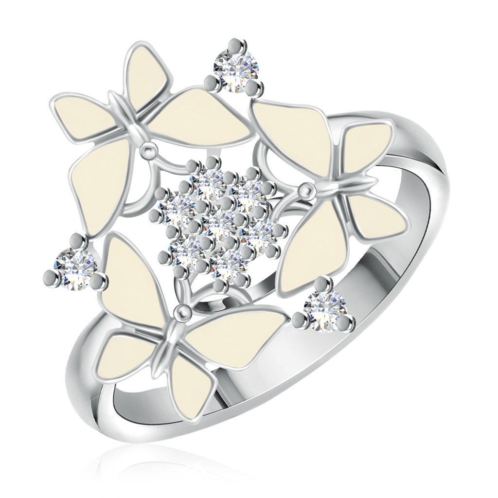 Кольцо из серебра Z1-8096