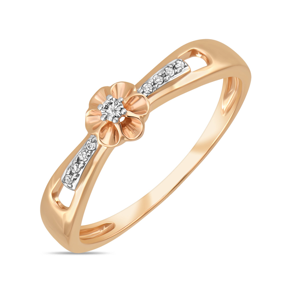 Кольцо из золота R01-D-RR01053ADI-R17 кольцо из золота r01 d 69002r001 r17
