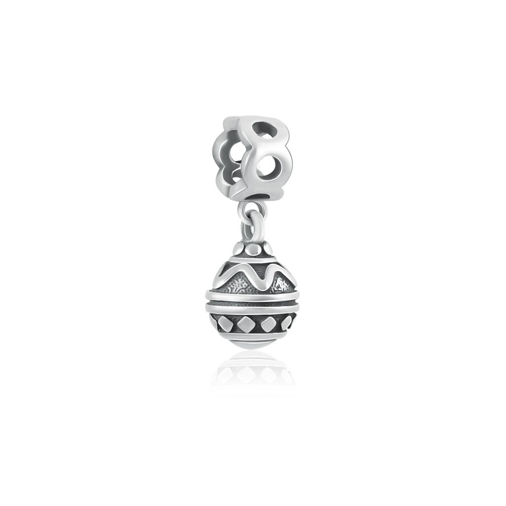 цена на Шарм-подвеска Ёлочная игрушка из серебра 79010605000