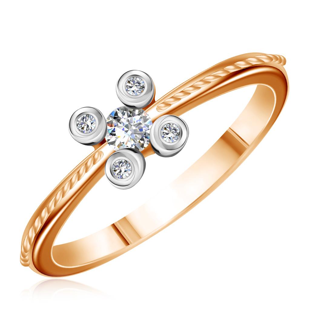 Кольцо из золота HNR2542Кольца из белого золота<br>Артикул: HNR2542 Металл: Золото Au 585 Вставка: Бриллиант<br><br>Артикул: HNR2542<br>Металл, проба: Золото<br>Цвет металла: Красный<br>Вставка: Бриллиант