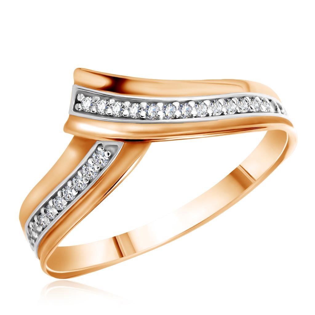 Кольцо из золота 1-4372Кольца из красного золота<br>Артикул: 1-4372 Металл: Золото Au 585 Вставка: Фианит<br><br>Артикул: 1-4372<br>Металл, проба: Золото<br>Цвет металла: Красный<br>Вставка: Фианит