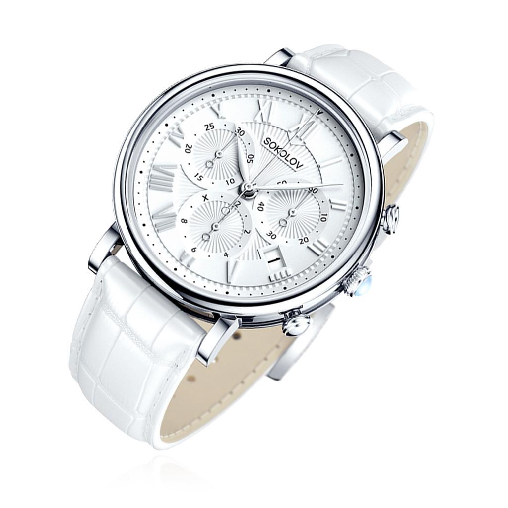 Часы женские из серебра 126.30.00.000.01.02.2