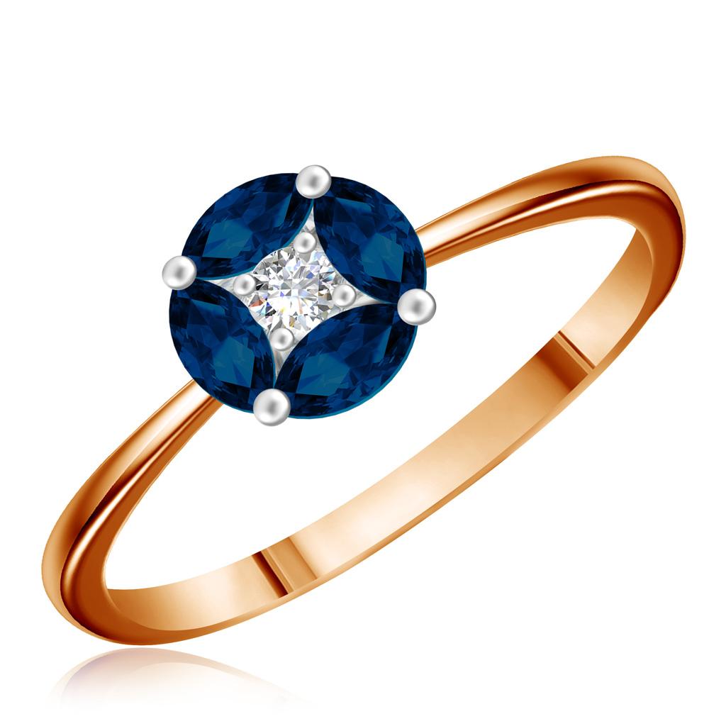 Золотое кольцо с сапфиром A1R28416Кольца из белого золота<br>Артикул: A1R28416 Металл: Золото Au 585 Вставка: Бриллиант<br><br>Артикул: A1R28416<br>Металл, проба: Золото<br>Цвет металла: Красный<br>Вставка: Бриллиант