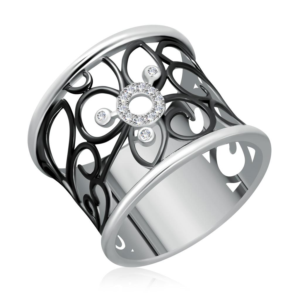 Кольцо из серебра WR26042-M