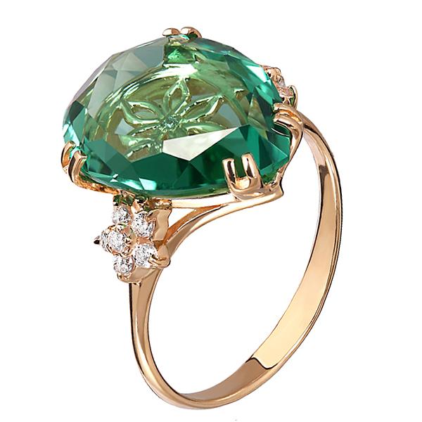 Кольцо из золота 1-1625-КаФ