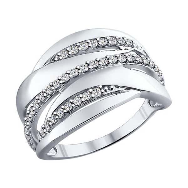 Кольцо из серебра 94011861