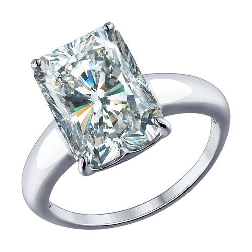 Кольцо из серебра 94012078