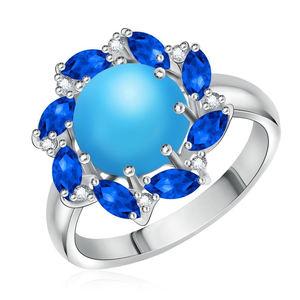 Кольцо из серебра 94011824
