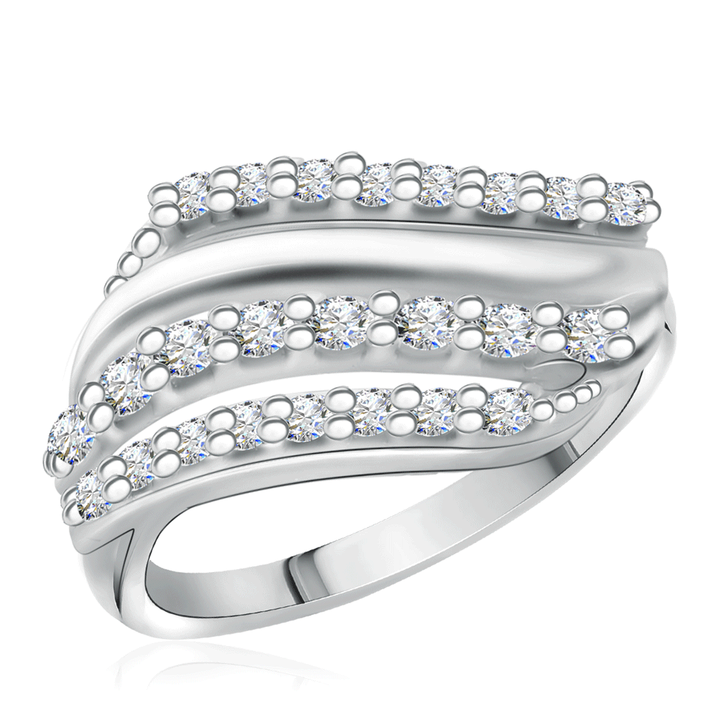 Кольцо из серебра 94011964