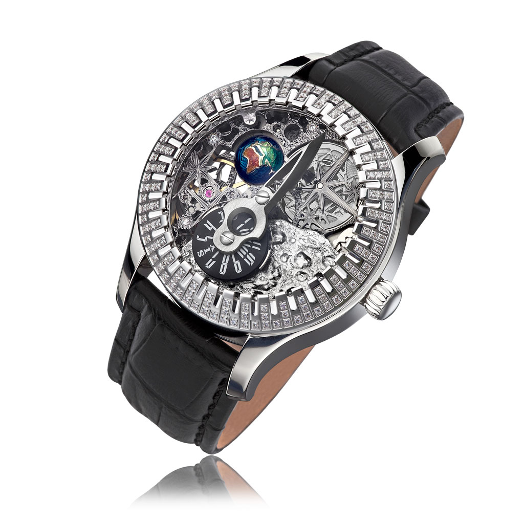 Мужские часы НИКА-Exclusive 1156.1.9.02 цена и фото