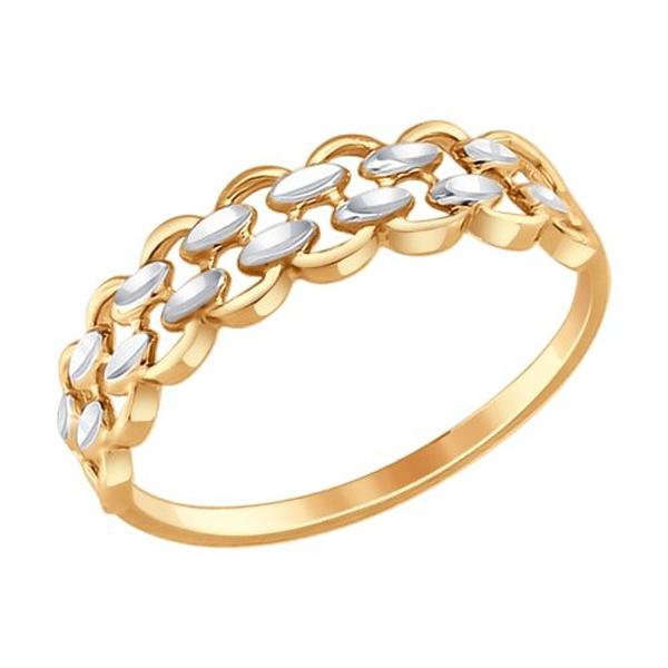 Кольцо из золота 017347