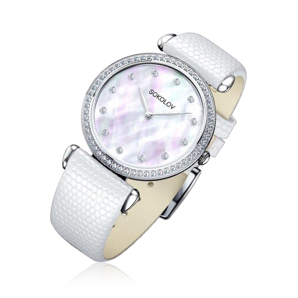 лучшая цена Часы женские SOKOLOV из серебра 106.30.00.001.05.02.2