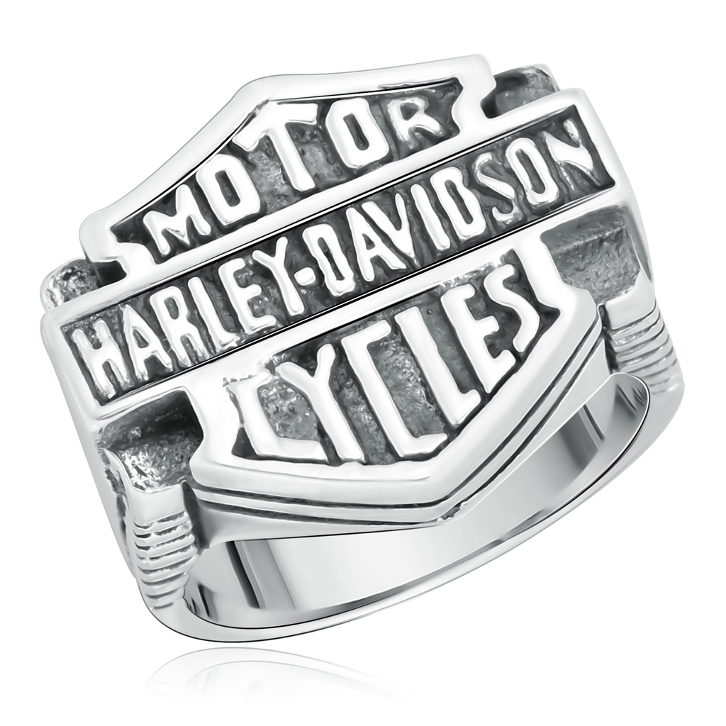 Мужское кольцо серебряное без камня 71291