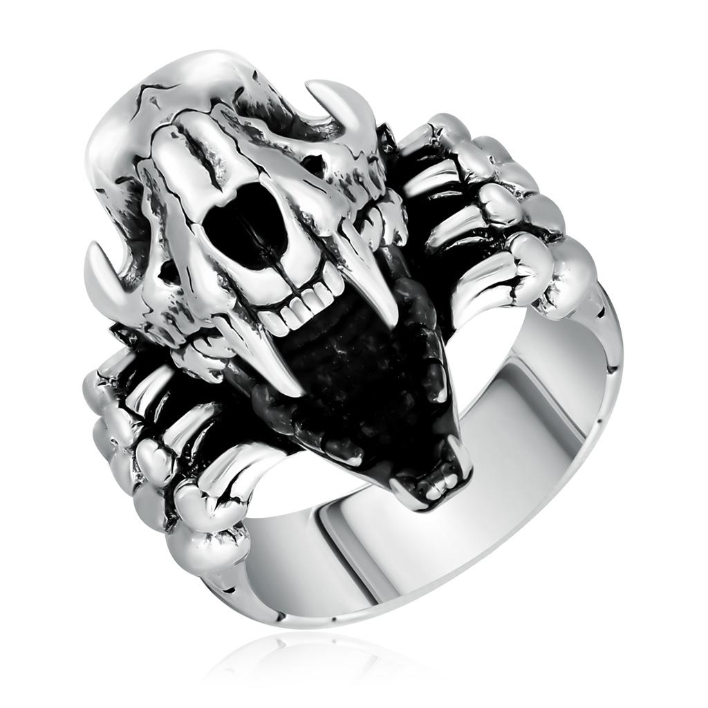 Кольцо мужское из серебра D1040