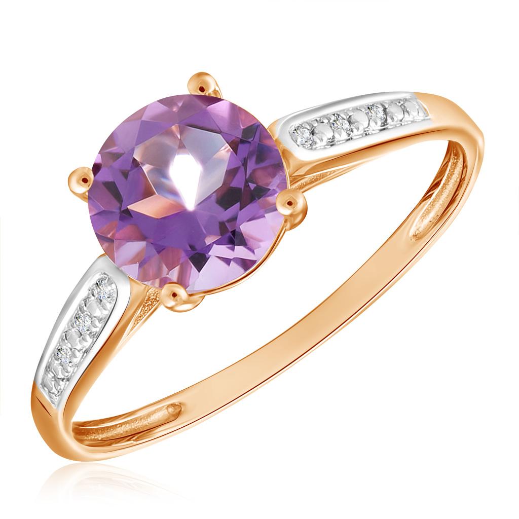 Кольцо из золота R01-D-69015R002-R17 кольцо из золота r01 d r306443sap