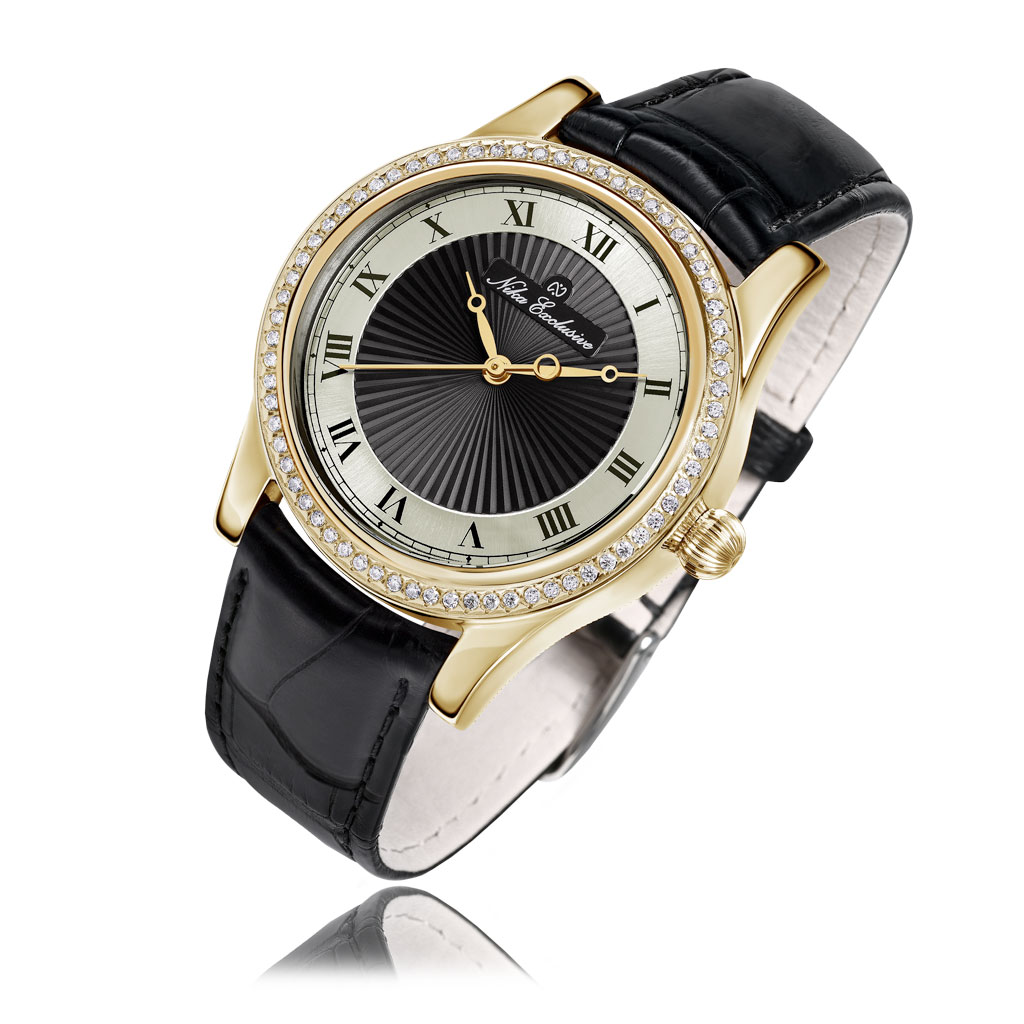 лучшая цена Часы женские НИКА из золота 1100.1.3.101B