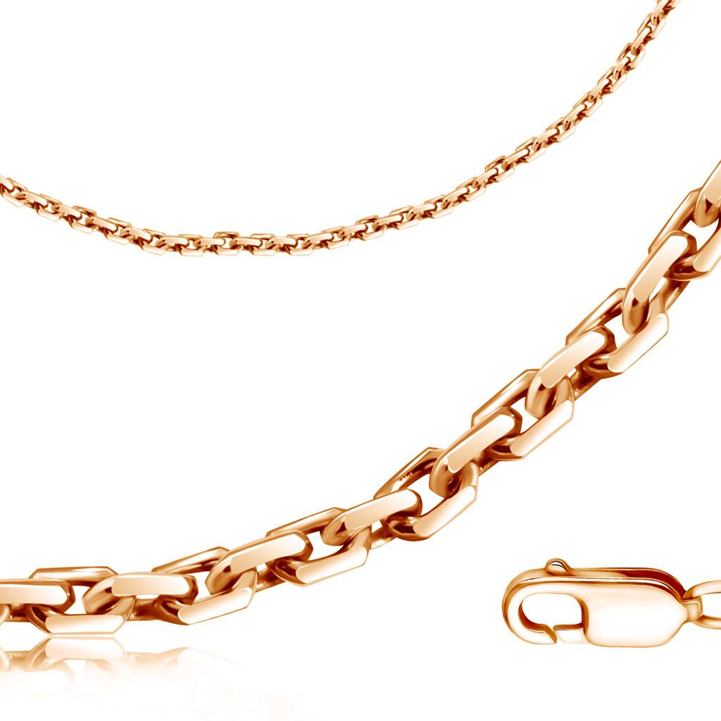 Браслет из золота, якорное плетение, ширина 5 мм 111501414 bronnitsy фото