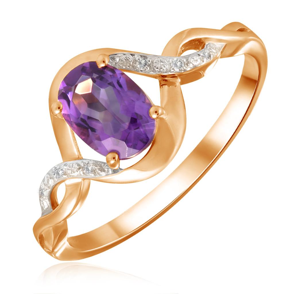 Кольцо из золота R01-D-1983107AM-R17 кольцо из золота r01 d 69002r001 r17