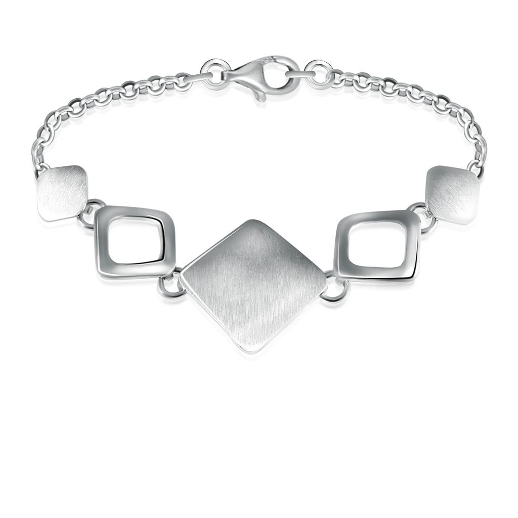 Браслет декоративный из серебра 6br265
