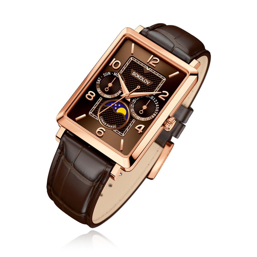 Часы мужские SOKOLOV из золота 233.01.00.000.07.02.3