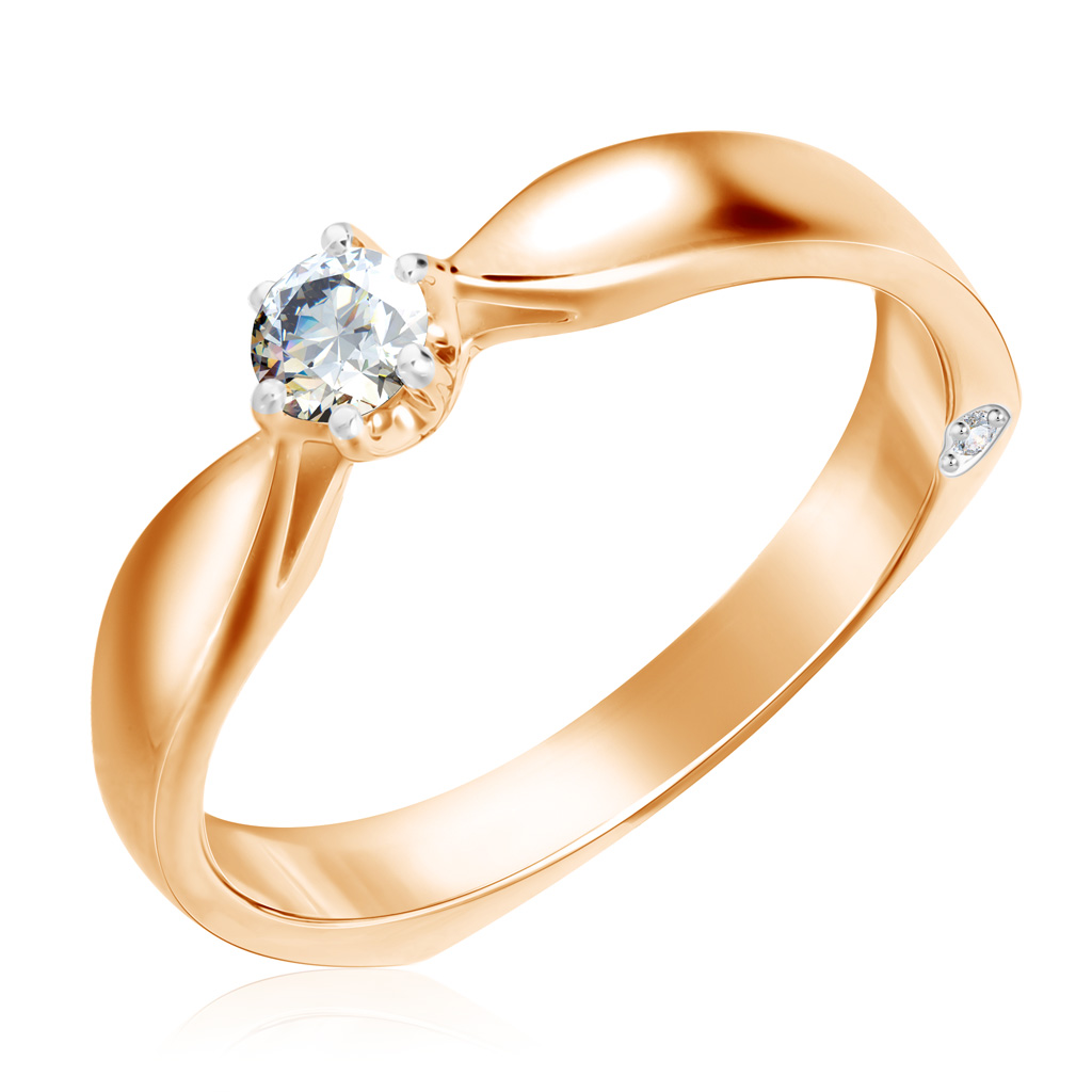 Кольцо из золота 1011666